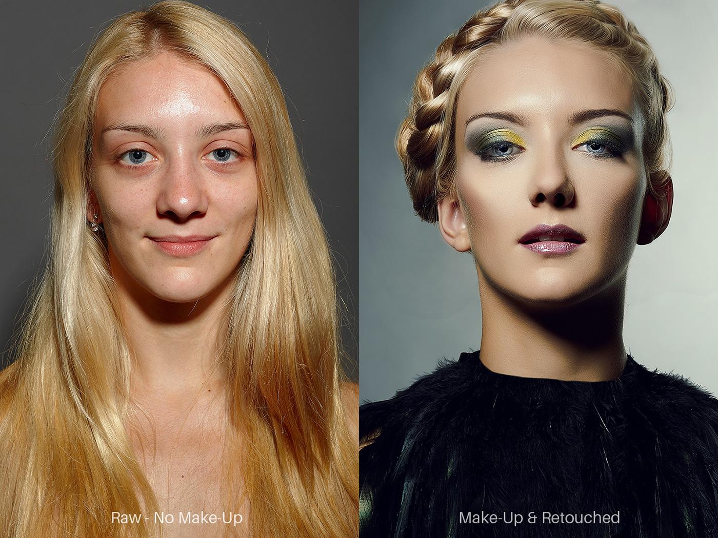Manuela Hiller Make Up Dresden Vorher/Nachher